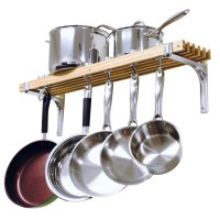 5 Best Wall Mount Pot Rack  Save more space in your ...