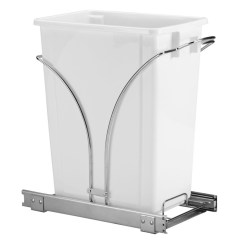 Undercounter Kitchen Trash Can Mixer 5 Best Under Counter Pull Out  Elegantly And