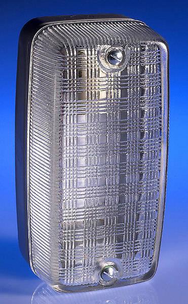 100w BC Weatherproof Bulkhead Clear Glass