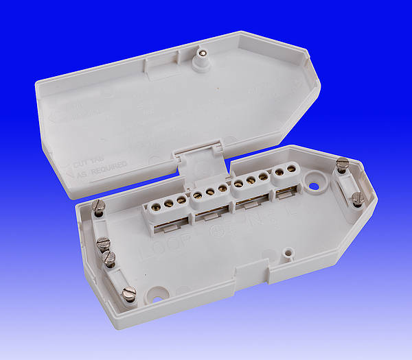 ring main wiring diagram 7n plug ashley j501 16 amp downlighter junction box