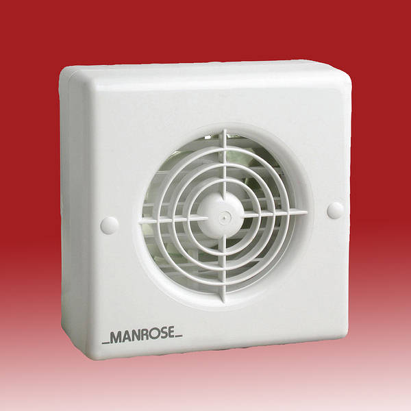 4 Inch Humidity Wall Extractor Fan