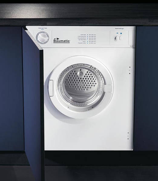 Fully Integrated Air Vented Tumble Dryer