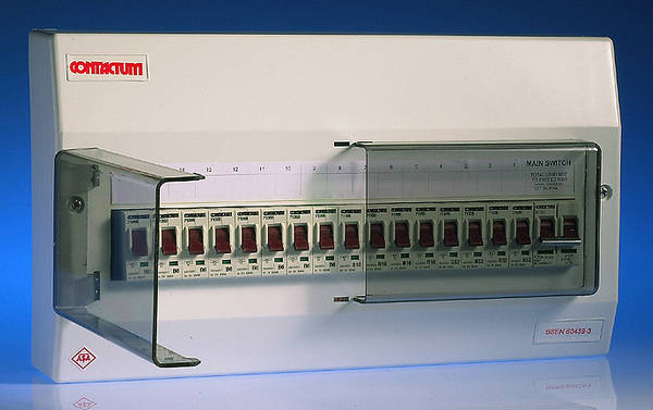100 Amp Fuse Box 16 Way Insulated Consumer Unit 100 Amp Switch