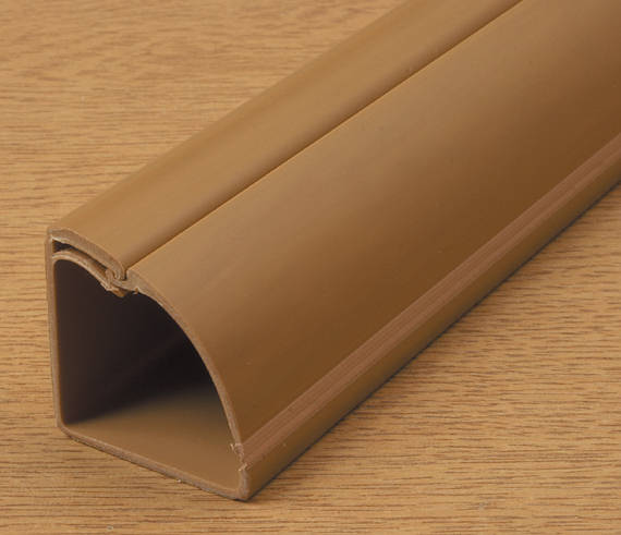 DLine Mini Trunking 30mm x 30mm Wood Self Adhesive