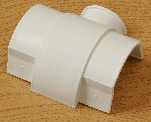 60mm x 30mm PVC Trunking SelfAdhesive 15m  White