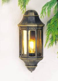 Half Wall - Decorative Lanterns