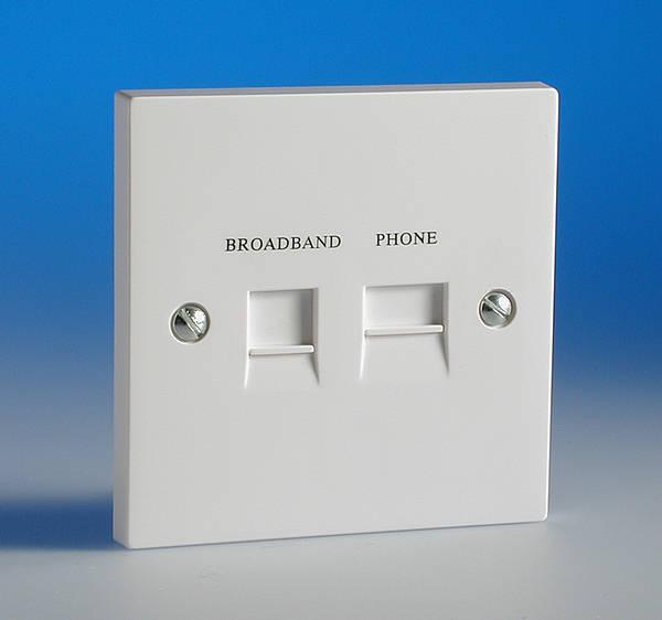 rj11 wiring honeywell aquastat l6006a diagram adsl filtered extension socket - flush