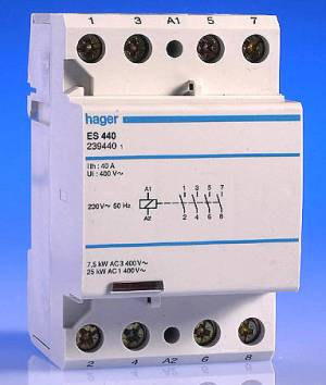 4 pole contactors | DIYnot Forums