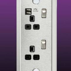 Kitchen Island Size Mandolin Under & Worktop Switches And Sockets