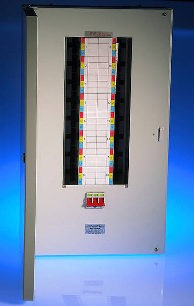 Distribution Board Wiring For Single Phase Wiring Electrical Online