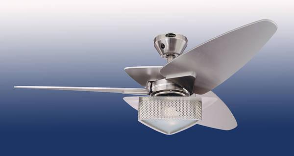 48 Vector Elite II Ceiling Fan  Brushed Nickel
