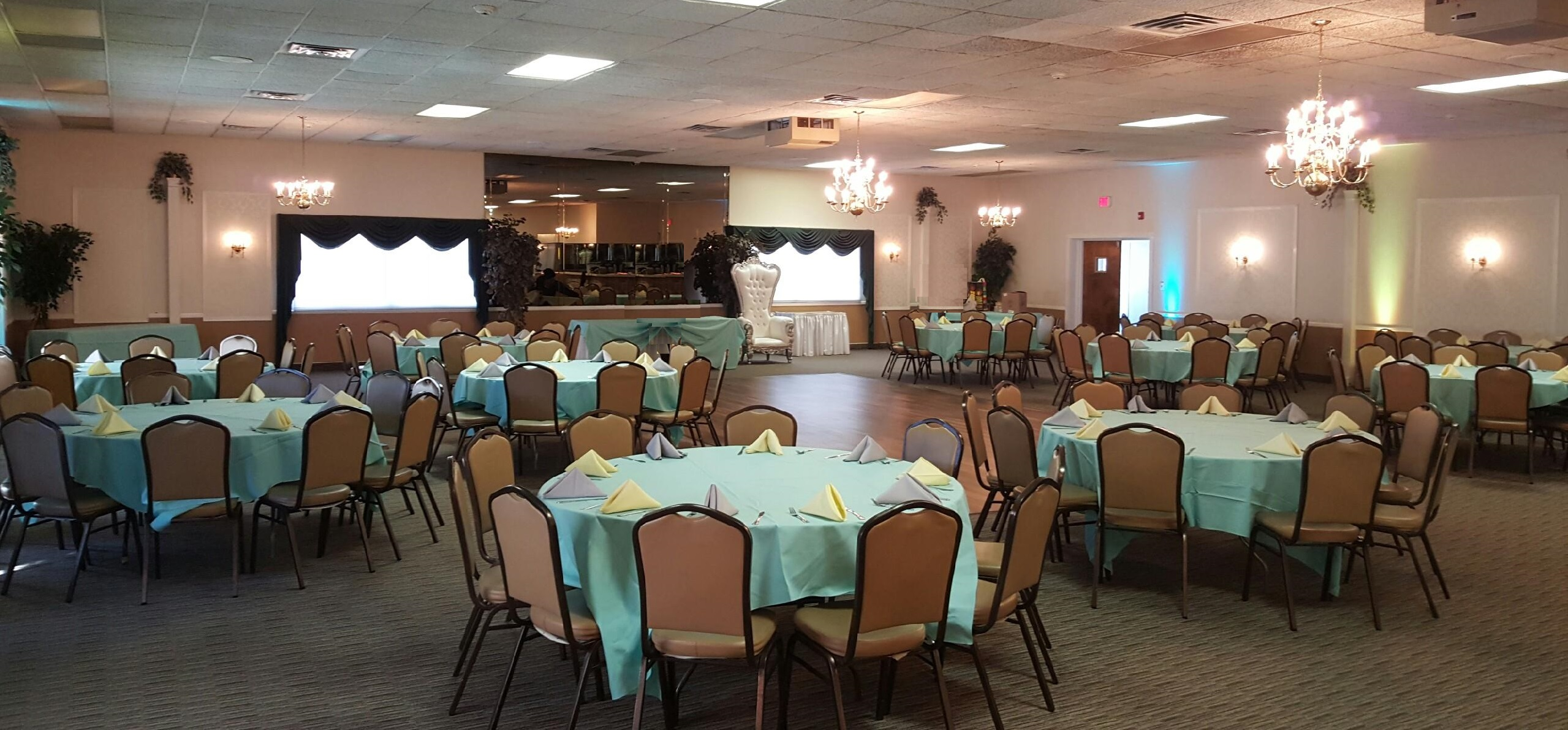 chair cover rental paterson nj baby shower the grand banquet hall t andl catering leon 39s