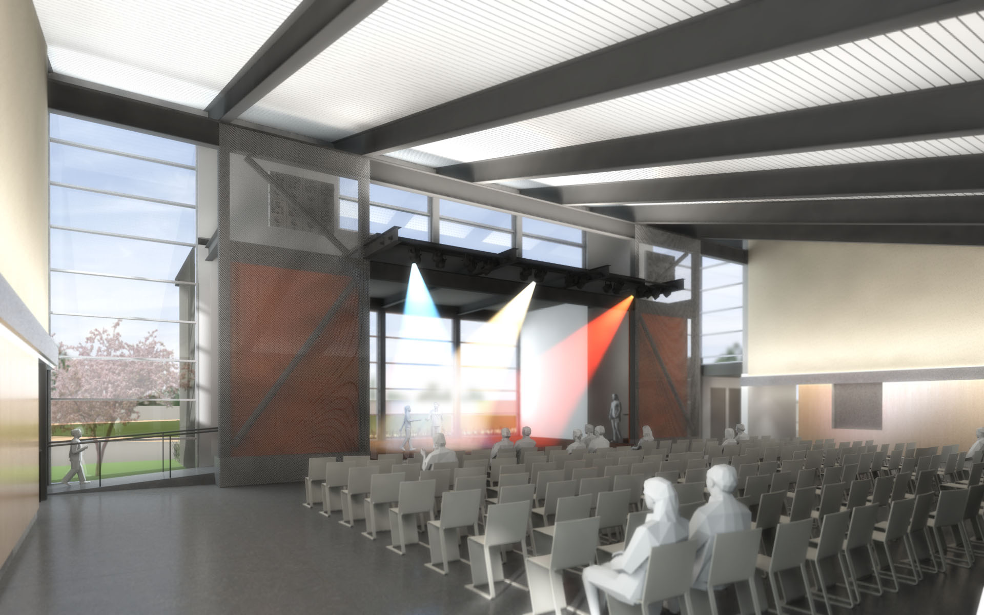 Innovative MultiPurpose Room Unveiled  TLCD Architecture
