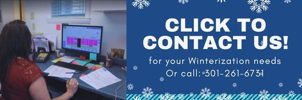 Winterization Need Contact Us CTA