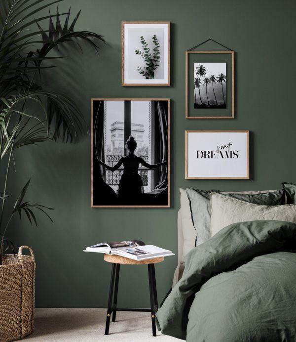 Botanical Green Living Room