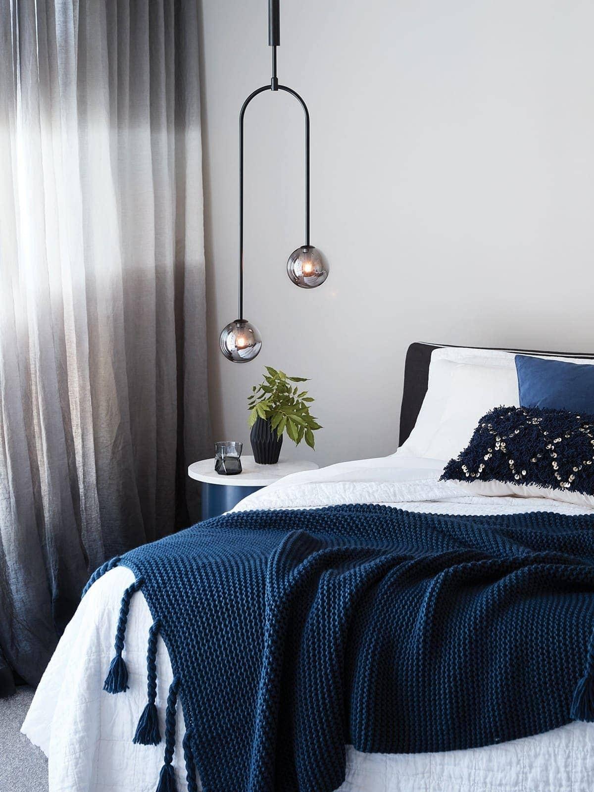 Choosing Pendant Lights For A Master Bedroom Tlc Interiors