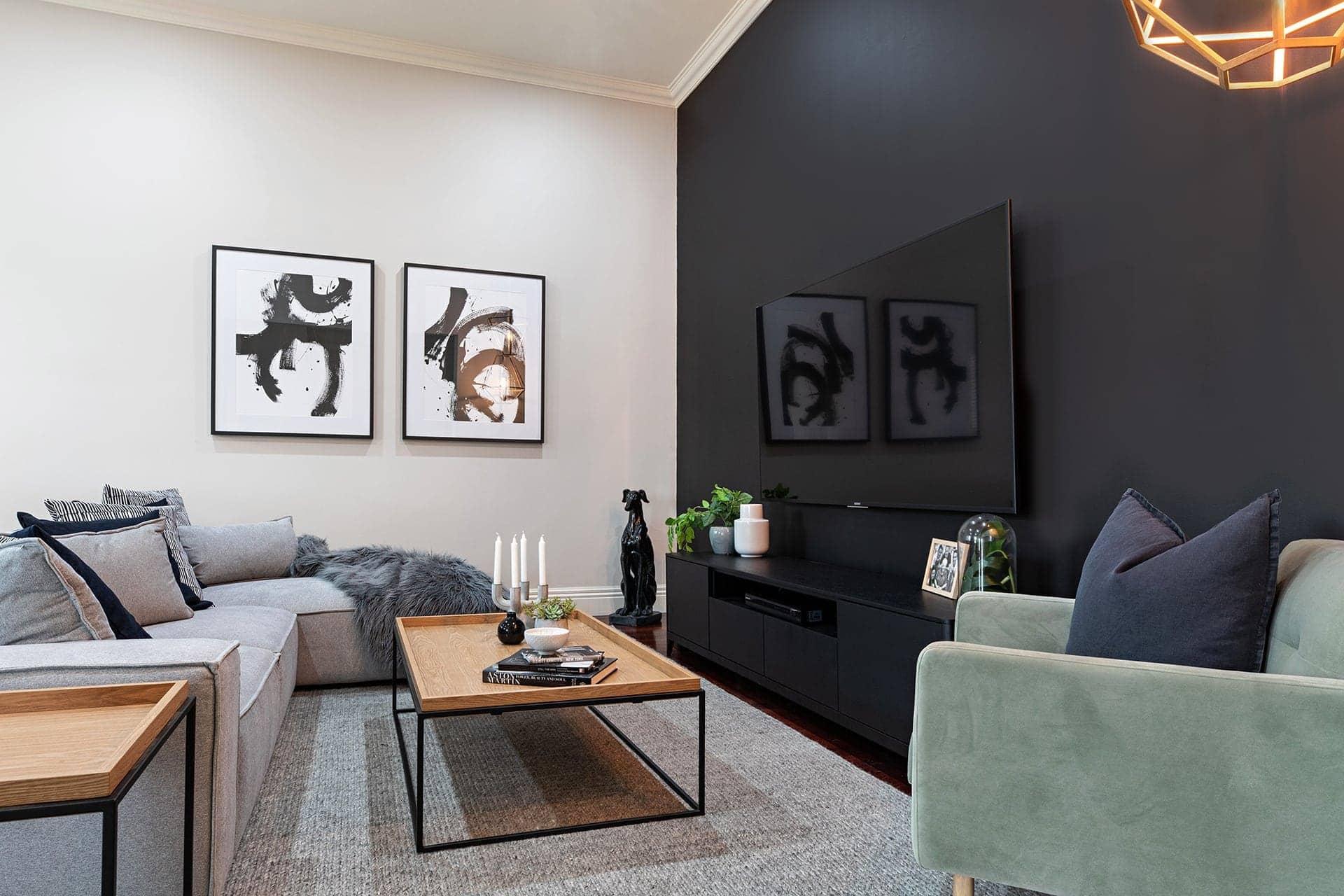 Living Room Interior Simple Design