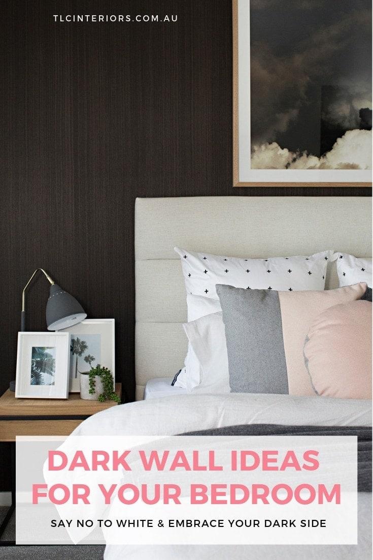 dark bedroom wall ideas