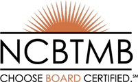 National Board Certification in Therapeutic Massage and Bodywork logo