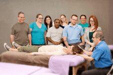 David Lauterstein teaching advanced massage therapy techniques