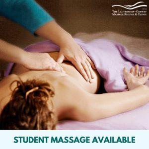 student massage clinic