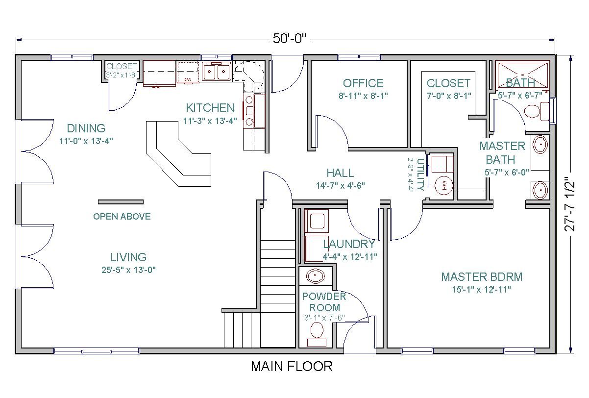 layout open plan kitchen living room best designs in india chinook | tlc modular homes