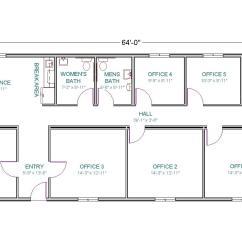 Sample Network Diagram Floor Plan 1997 Honda Accord Timing Belt Modular Office Or Control Center Tlc Homes