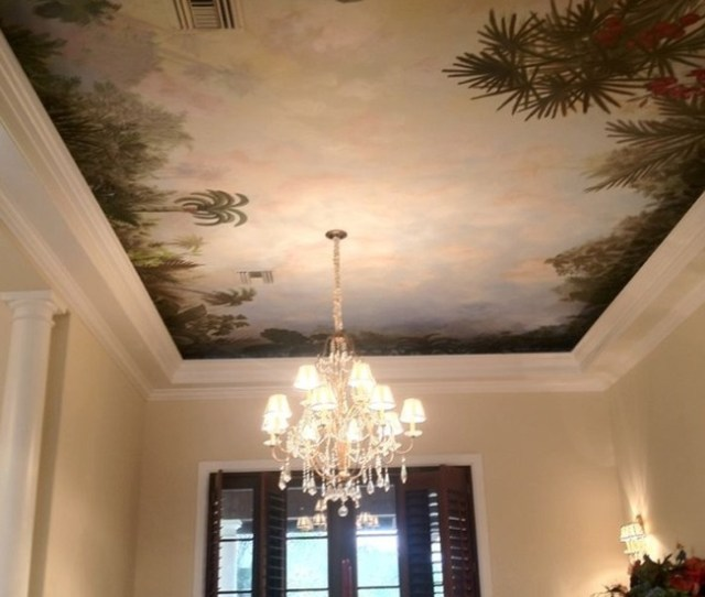 Painting Services Company Tlc Design And Paint Beautiful Ceiling And Wall Murals In Miami Fort Lauderdale Boca Raton Palm Beach And The Florida Keys