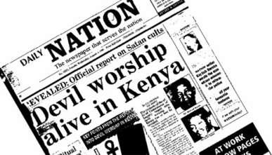 Devil Worship Rampant in Kenya Schools...