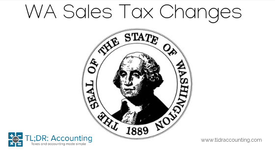 July 1st, 2019 change to Point-of-sale WA State Sales Tax