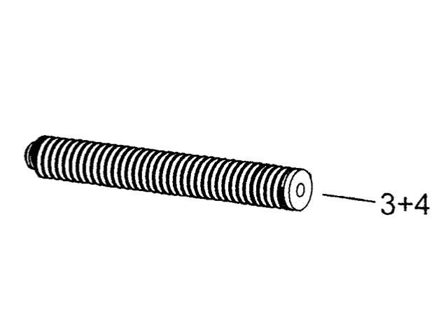 (03+04) Ensemble tige guide / ressort récupérateur Glock
