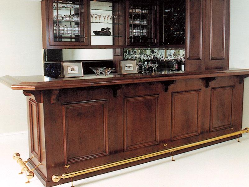 custom home bar cabinets wet dry