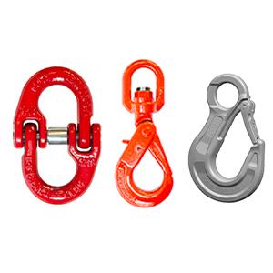 Composants pour élingues en chaîne