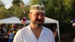 Radu Captari la Sărbătoarea Borșului Pescăresc la Jurilovca. FOTO Adrian Boioglu