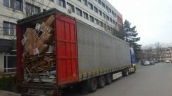 Ajutoare second-hand pentru Spitalul Județean Tulcea. FOTO Mita Mergeani