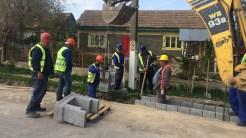 Lucrări de infrastructură în județul Tulcea. FOTO Liliana Boioglu