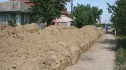 Lucrări de canalizare în comuna Carcaliu. FOTO Tlnews.ro