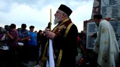 Episcopul Tulcii, Visarion, la Ziua Eroilor de la Niculițel. FOTO Tlnews.ro