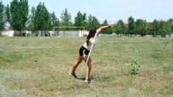 Copiii din Turcoaia se pregătesc pentru atletism. FOTO Tlnews.ro