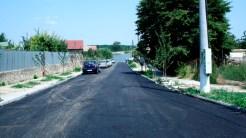 Asfaltări în comuna Mahmudia. FOTO Tlnews.ro