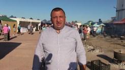 Primarul comunei Jurilovca, Eugen Ion laFestivalul Borșului Lipovenesc de Jurilovca, ediția 2019. FOTO Cristina Niță