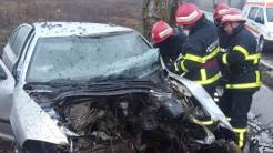 Accident rutier între Baia și Babadag. FOTO ISU Tulcea