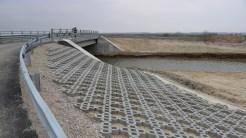Pod construit de Primăria Murighiol. FOTO Adrian Boioglu
