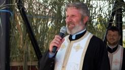 Petrică Chivu, preotul paroh al Bisericii din comuna Mihai Bravu. FOTO Paul Alexe