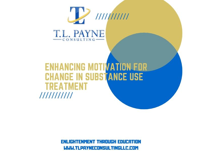 Enhancing Motivation for Change in Substance Use Disorder Treatment