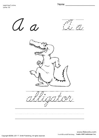 Learning Cursive Packet 1