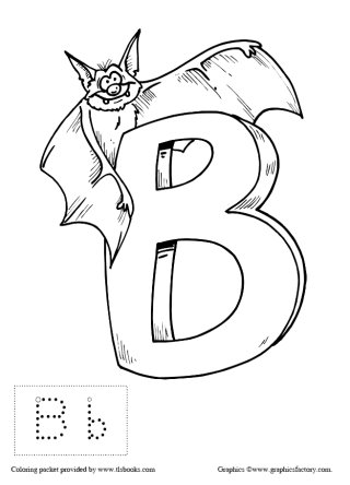 Preschool Alphabet Coloring Book with Letters to Trace