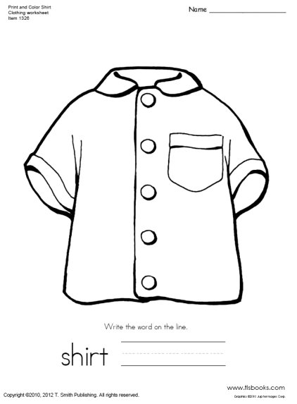 Print and Color Shirt