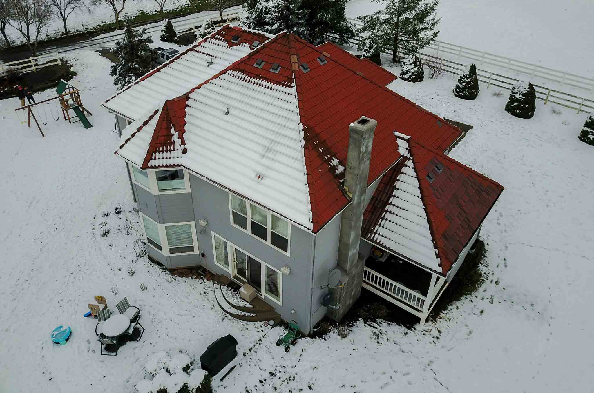 Oregon City Home by Drone