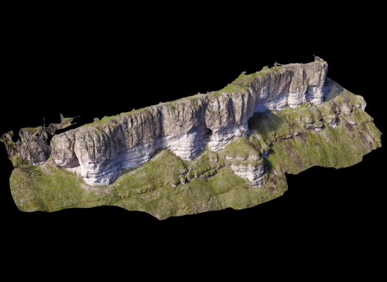 Chenoweth Cliffs 3D Terrain Model